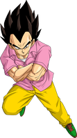 Vegeta Badman by BrusselTheSaiyan