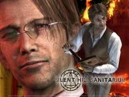 Silent Hill 3 Vincent Wallpapr by dbuoi