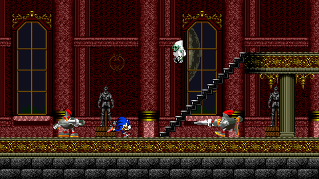 CastleVania Zone Mock-Up 5 - Asorted Mock-Up by MrLevRocks