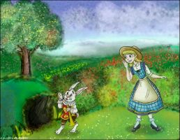 Following the White Rabbit by Ciro1984