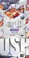 Gospel Party Flyer Vol 2 by caniseeu