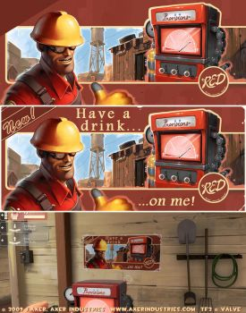 TF2 Engineer by JayAxer