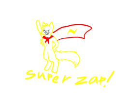 super zap! by moonlightartistry