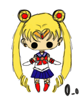 Sailor Moon by PsychoticWeirdo