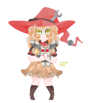Little witch by DrawingMelon