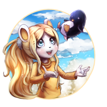 [S AT] They are snowing penguins! xD +speedart by fangirl-sonicteam