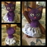 Kitty Plush with Skirt by Mlggirl