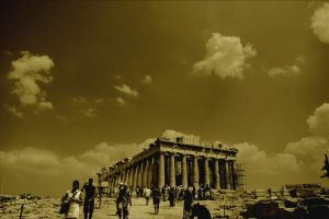 Parthenon by margimadness