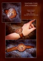 Leather Cuff - Nachtmahr by Darya87