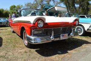1957 Ford Fairlane 500 Convertible VII by Brooklyn47