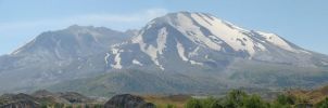 Mt. St. Helens from Hummocks by speedyfearless