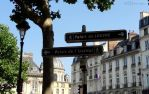 Directional street signs in Paris by EUtouring