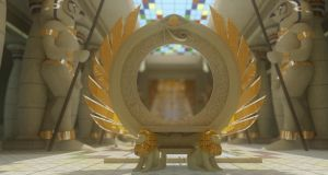 Seraphopolis Throne Room Portal by cmdesigna