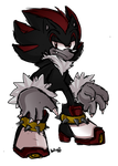 Shadow the Werehog by 13aymax