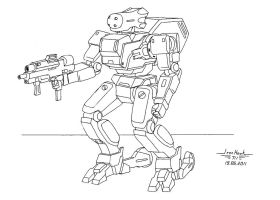 Mecha-1 by IronHawk711