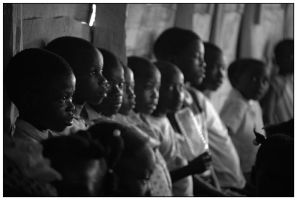 Haiti - Inside the Church by Cleonor