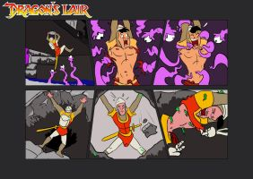 Commission: Dirk Daring Game Over Part 1 of 4 by KingRiek