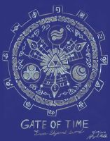 Gate of Time by Jeffrey-Scott
