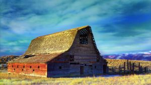 Full spectrum barn wallpaper by NickSpiker