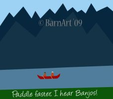 Paddle faster by barn9
