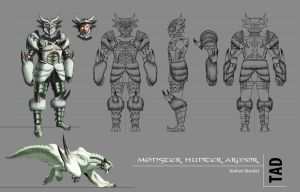 Monster Hunter Armor Set by gntlemanartist