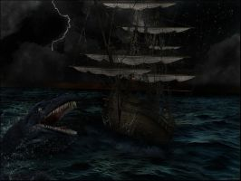 The Sea of Monsters by Filmchild