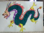 Chinese dragon by Apocalypsis18