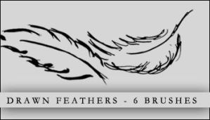 Tapestry - drawn feathers by kattepus313