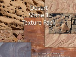 Desert Stone Texture Pk 1 of 4 by DustwaveStock