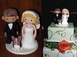 Wedding Cake Topper 4 by Rook-XIII