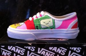 Adventure time Vans BMO by VeryBadThing
