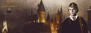 Peters Evan Hufflepuff by AkilajoGraphic
