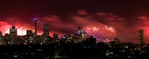 Midnight Fireworks - IMG_3680 by leafinsectman