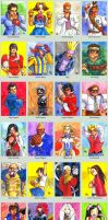 Sketchcard Rival Schools Collection by fedde