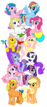 My little Pony Generations by Dragnmastralex