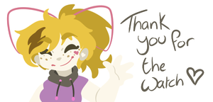 Thank you~ by EmberCL