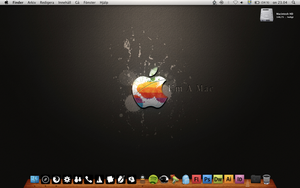 MacBook desktop by ProudEchelon