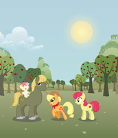 Sweet Apple family by Shokka-chan