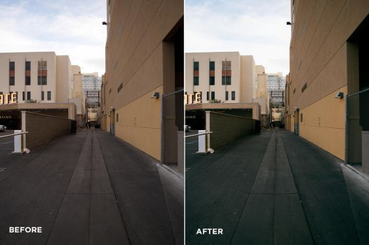 City Tones Photoshop Actions Before/After by filtergrade