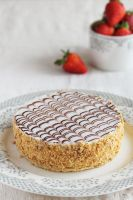 Strawberry Mille-Feuille with handmade puff pastry by kupenska