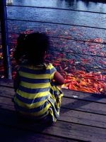 Alone with the fishes by bebphoebe