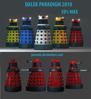 DALEKS 2010 DESIGN by janemk