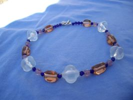 all glass necklace by merpagigglesnort