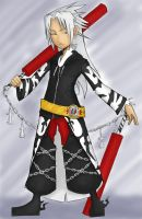 Xemnas - Twilight Town by searas
