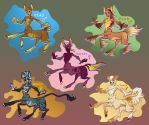 Farool Adoptables! by FablePaint