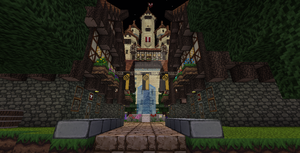 Town Square by UNDEADWARRIOR7411