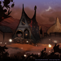 Abandoned House (Alternate version) by NuclearJackal