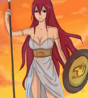 the goddess of war