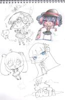 Assorted Chibis by CrackNinja