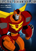 The Boo's TFA Rodimus Prime by OracleX7